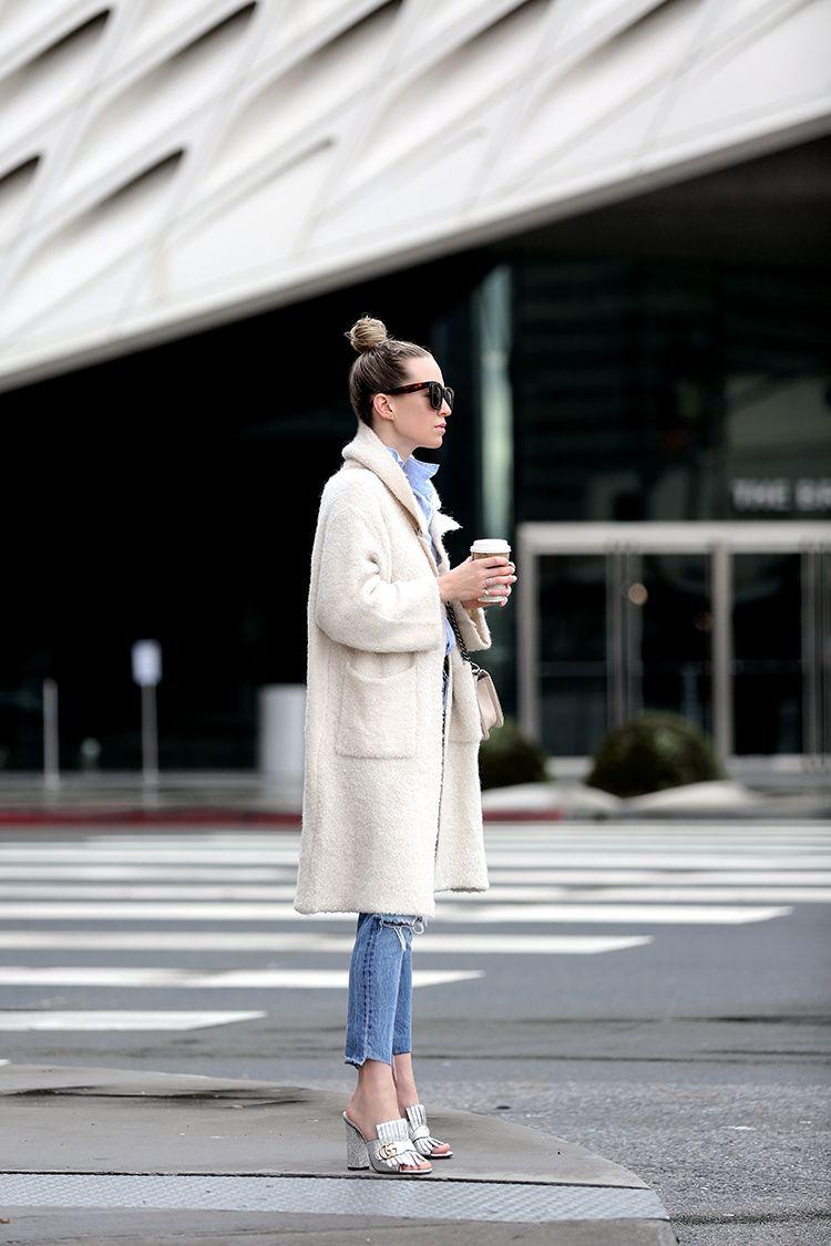 Gucci Mules - Gucci Marnmont Fringed Mules - Brooklyn Blonde