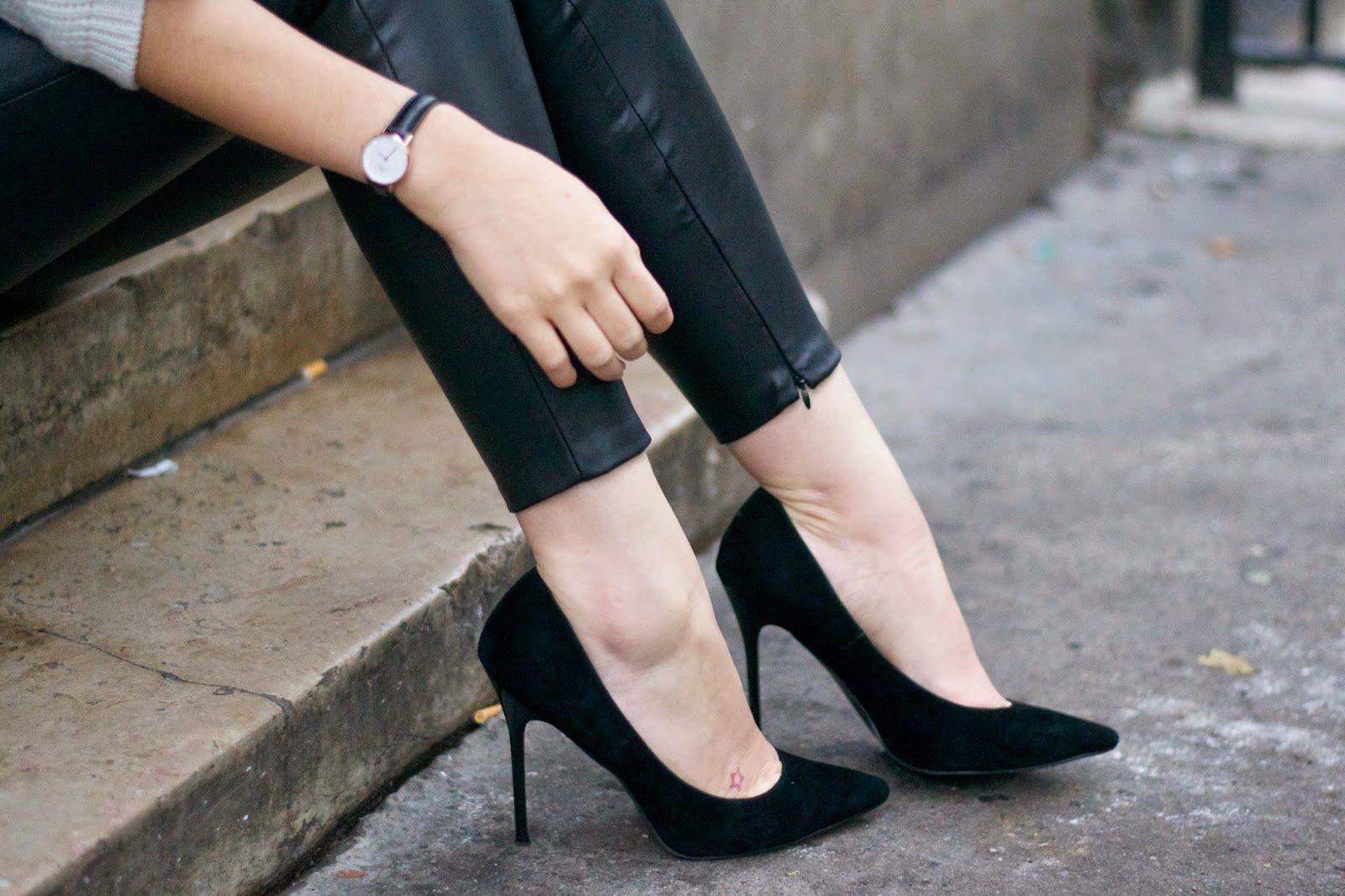 Back stiletto style