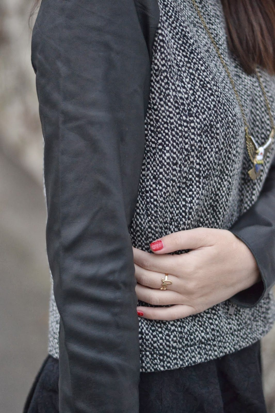 Leather sleeves