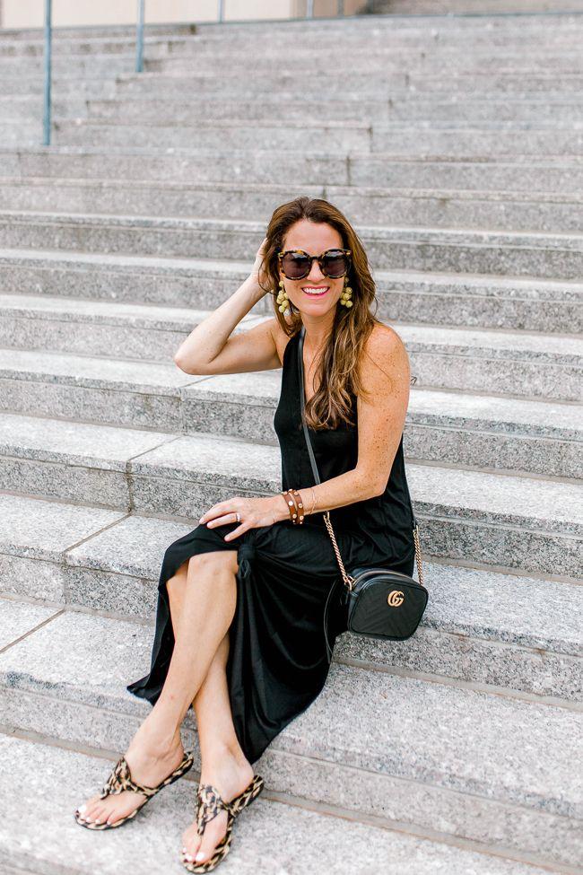 Dressy Summer outfit ideas via Peaches In A Pod blog.