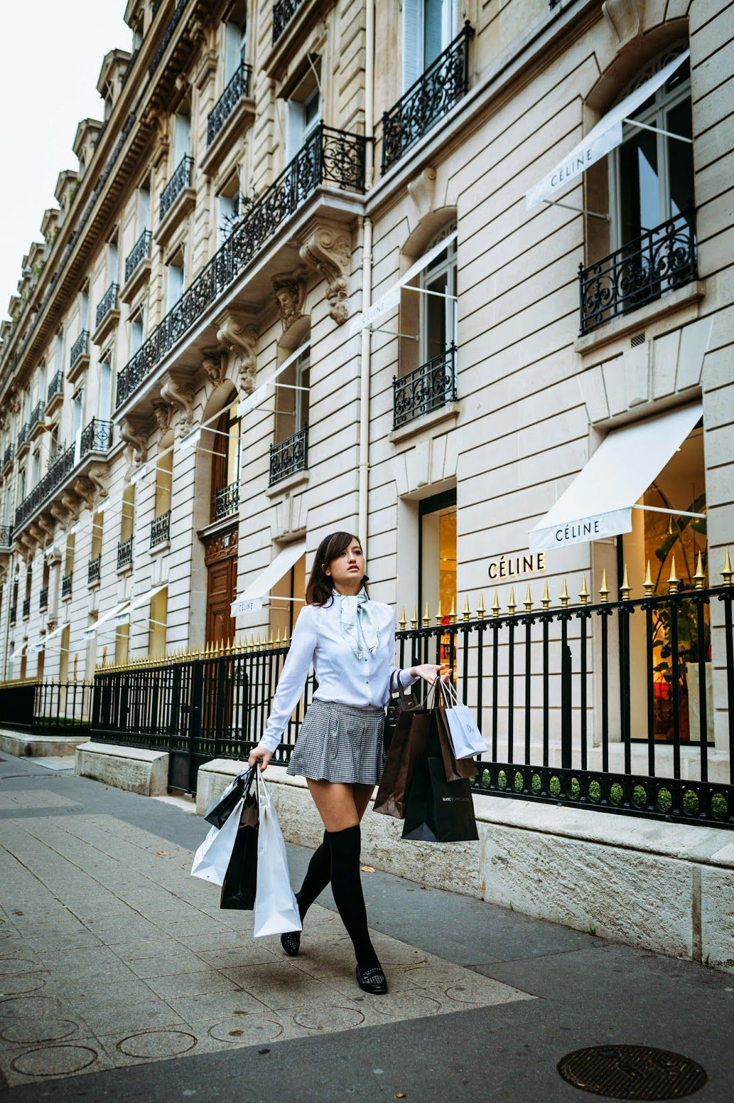 Parisian chic fashion
