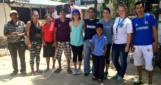 PWAP members partnered with water nonprofit CEDIENFA to bring clean water filters to communities in El Salvador in March 2014. Credit: Courtesy of PWAP