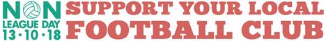 Non League Day banner