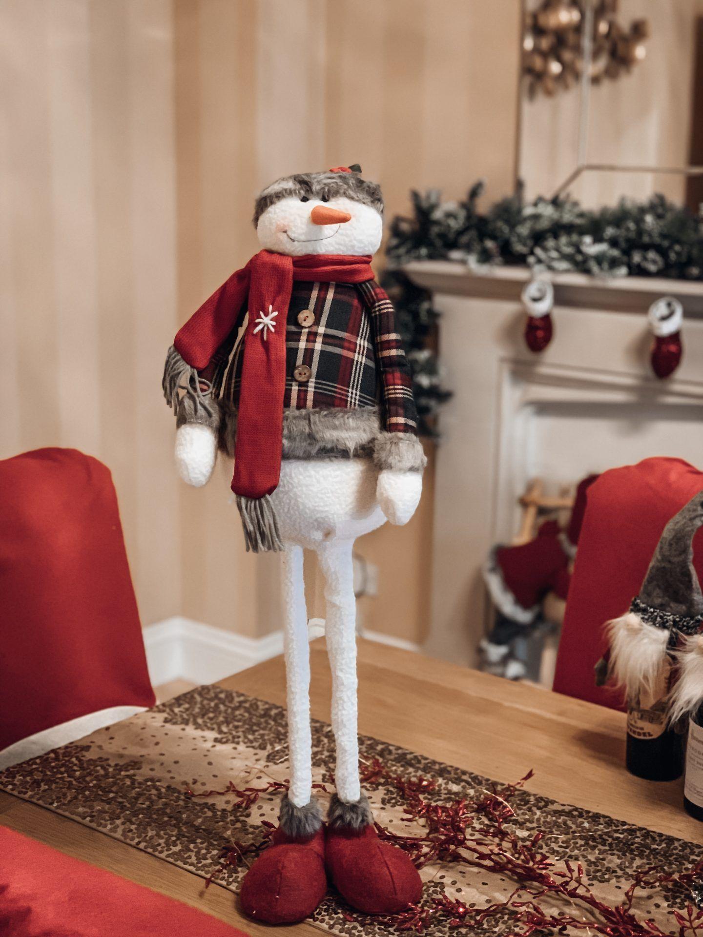 Telescopic legs Snowman - Christmas decorations