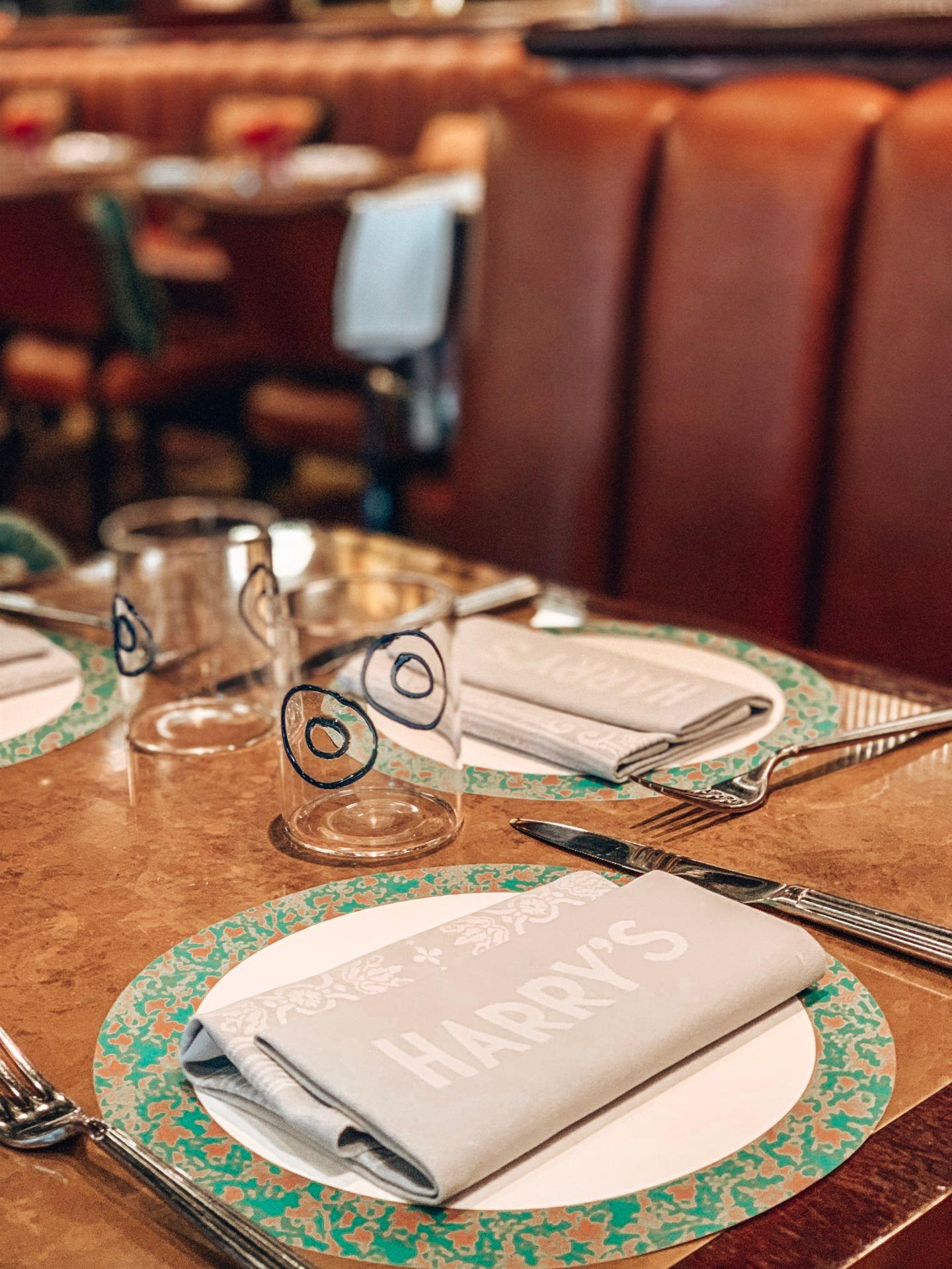 Harry's Bar James Street, London Italian Restaurant