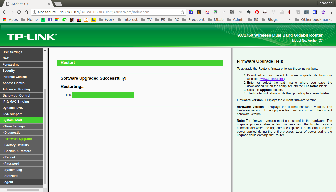 Installing OpenWRT on TP-Link Archer C7 AC1750 | Life, The