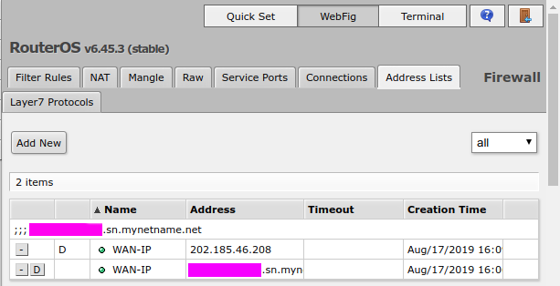 Router Replacement: Mikrotik RB4011 and TIME DotCom 1Gbps