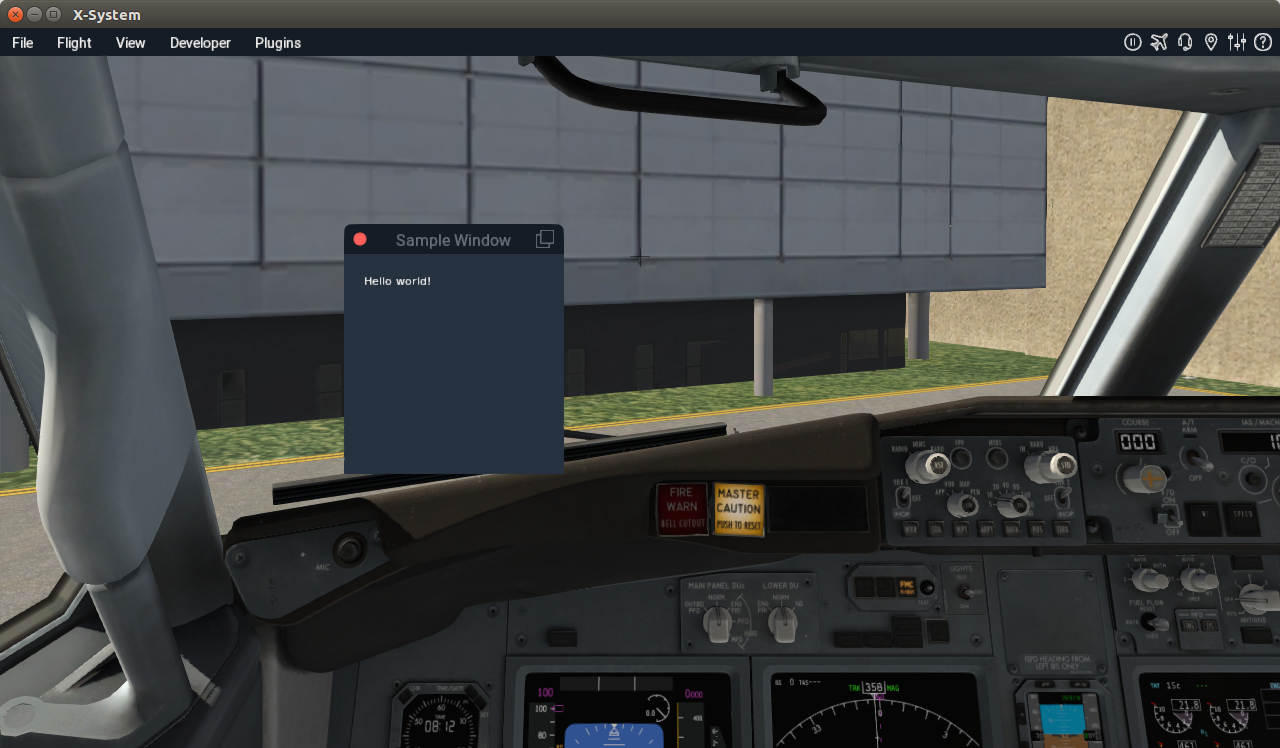 X-Plane Plugins - Some Notes | Life, The Universe and