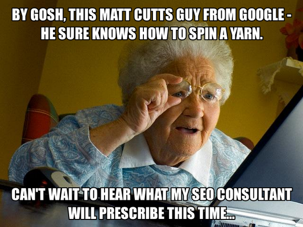 Image: What Grandma Thinks About SEOs, Hummingbird, Google and Matt Cutts (Free Blog Pictures)