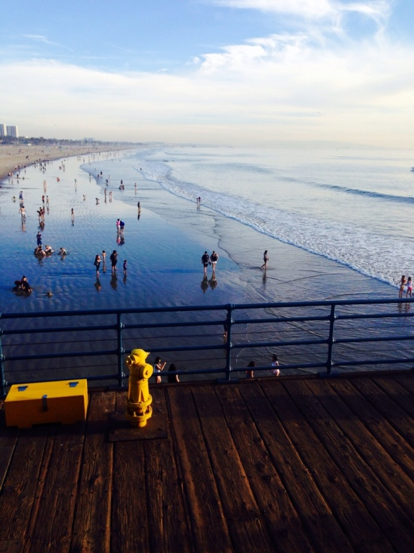 Image: On Santa Monica Pier, CA (Free Blog Pictures)