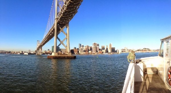 Image: Under the San Francisco Bay Bridge (Free Blog Pictures)