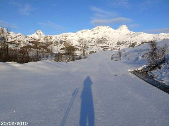 Nordic skiing in Cabañas Patagónicas in Maraña