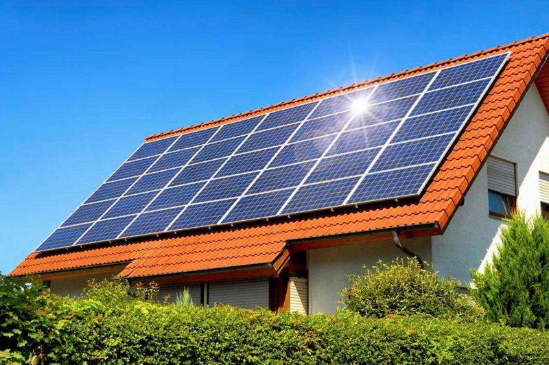 Hệ thống điện mặt trời trên mái
