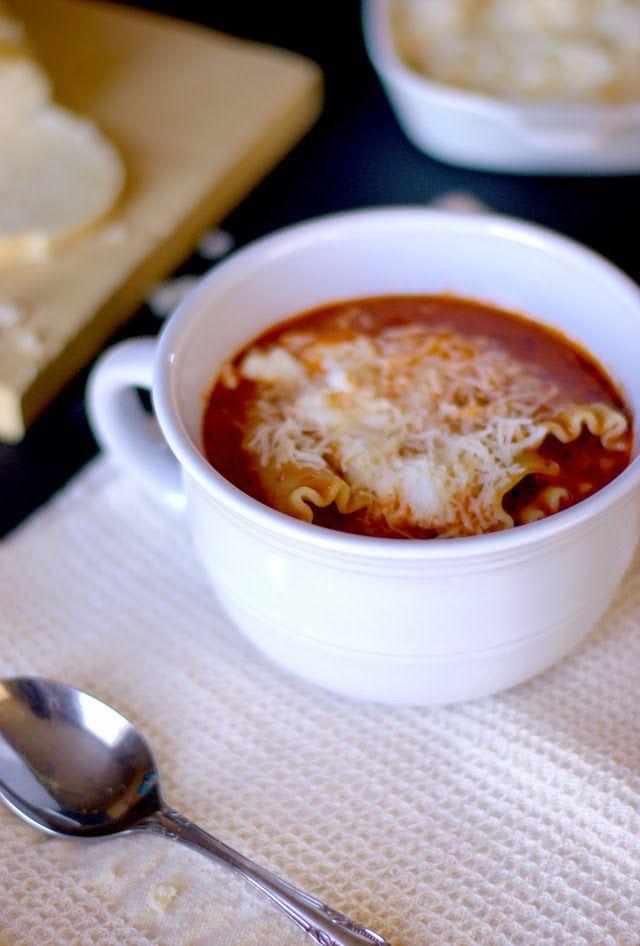 Delicious Lasagna Soup Recipe
