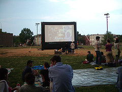 Washington City Paper/WABA Bike-In Movie 2007