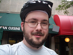 Me at the Arlington and Alexandria Community Bike Ride