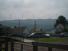 Wind Turbines near the GAP