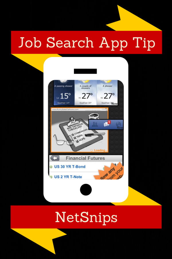 Illustration: Free App to Get Job Search Results / How-to-Tips.info Blog