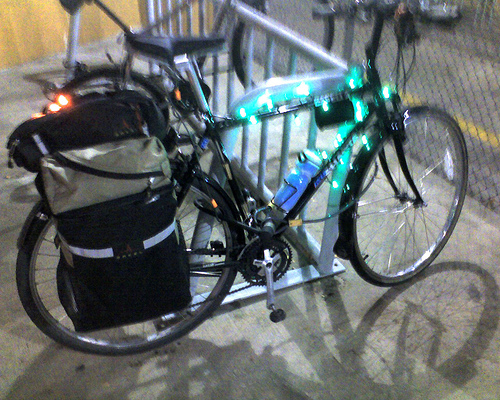My Bike Lighted for the Season