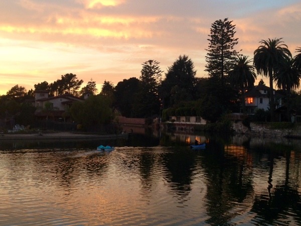 Image: Alameda Lagoon Sunset (Free Blog Pictures)