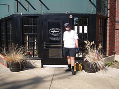 Me at the Dogfish Head Brew Pub in Falls Church